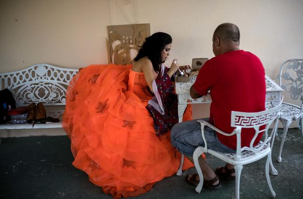Havana Quinceaneras are all the rage