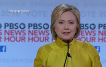 Clinton, Sanders battle on foreign policy