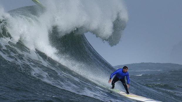Titans of Mavericks surfing competition