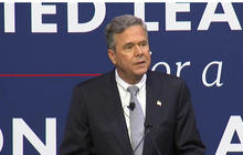 Jeb and George W. Bush spar with Donald Trump in S.C.