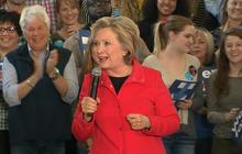 Hillary Clinton literally barks at Republicans