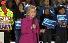 Clinton makes appeal to Nevada caucusgoers