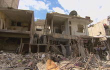 """Up-close look at """"epic"""" damage from ISIS bomb in Syria"""