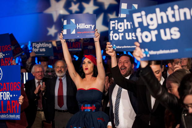 Celebs on the campaign trail