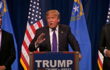 Highlights: Donald Trump addresses supporters after Nevada win