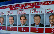A look at delegate numbers ahead of Super Tuesday