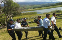 Did officials find a part of MH370?