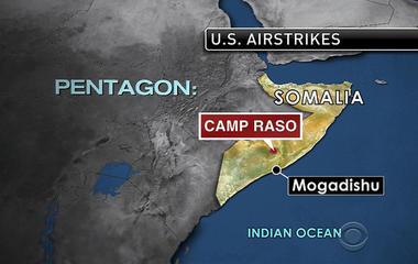 U.S. airstike hits al-Shabab training camp