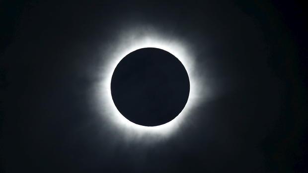 Stunning total solar eclipse