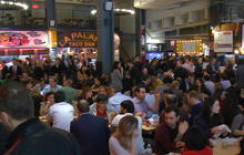 Nothing is off the menu at popular food halls