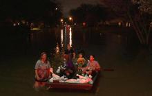 Rising water in Louisiana threatens levee