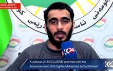 American ISIS member being interviewed by FBI