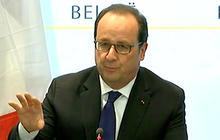 French President discusses arrest of Paris attack suspect