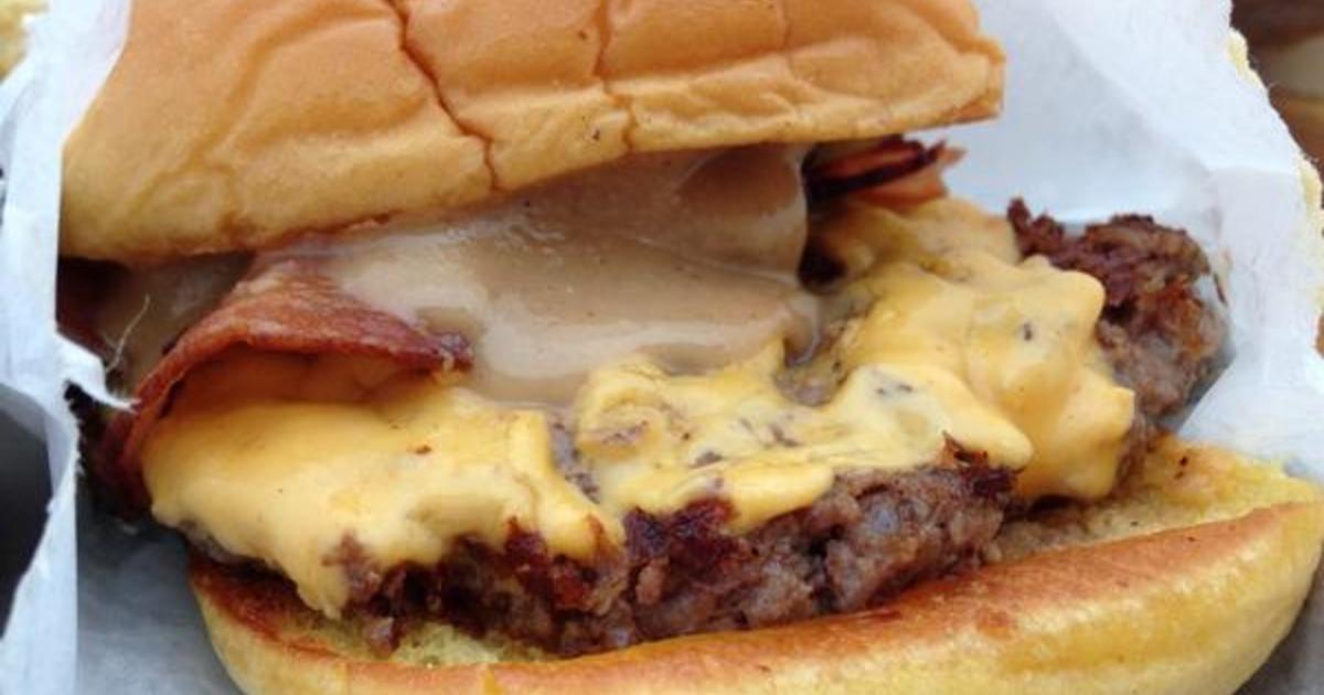 Shake Shack Peanut Butter And Bacon Shackburger Secret Menu Items From Fast Food Restaurants Cbs News