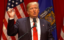 Rivals pounce on Donald Trump after abortion comments