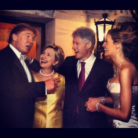 Trump And Melania Wedding.She Used To Be Chummy With Hillary A Crash Course On Melania Trump