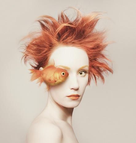 "Flora Borsi's surreal ""Animeyed"""