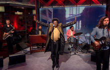 "Saturday Sessions: Charles Bradley performs ""The World Is Going Up In Flames"""