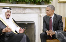 President Obama meets with king of Saudi Arabia amid tensions