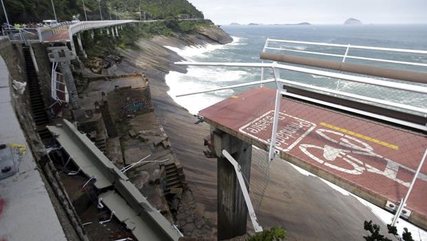 Deadly Brazil bicycle lane collapse in Olympics host city ...