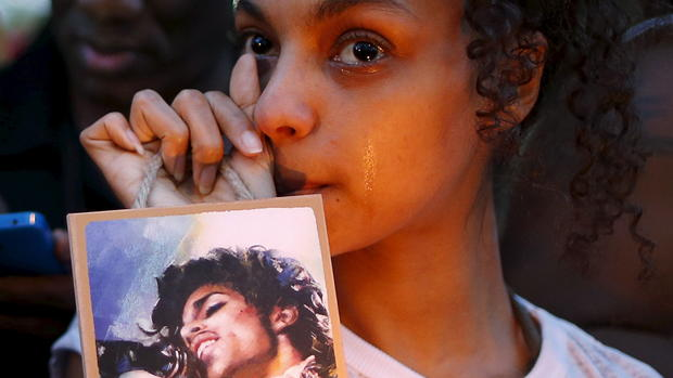 Fan tributes to Prince