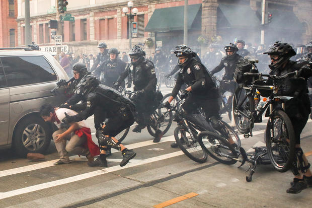 Seattle's violent May Day protests