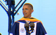 Obama delivers commencement speech at Howard