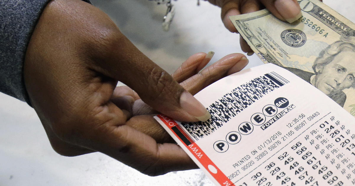 Buying lottery tickets will never make you rich - CBS News