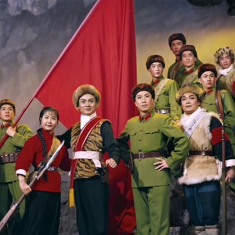 Rare photos of China's Cultural Revolution model operas