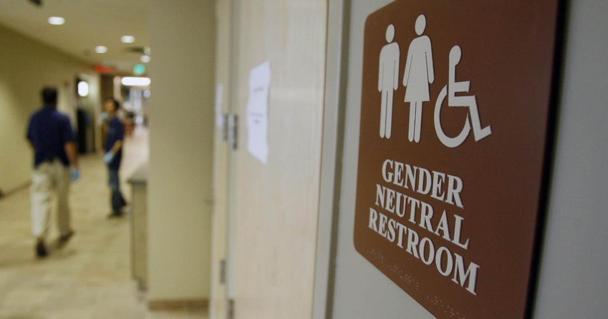 California Approves Genderneutral Bathrooms CBS News - Gender neutral bathrooms california