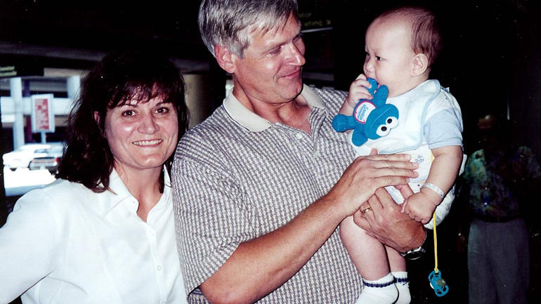 Jane, Dave and Michael Laut