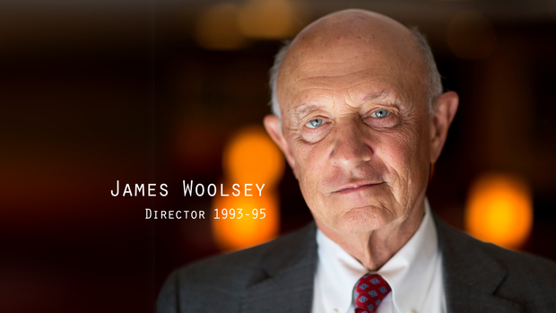 Former CIA Director James Woolsey