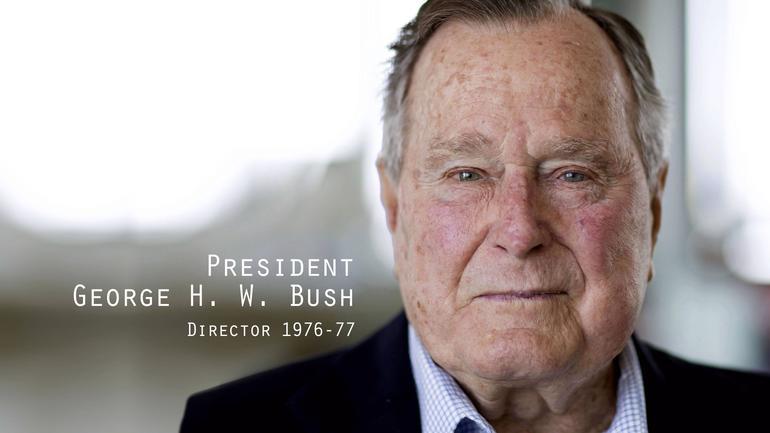 President George H.W. Bush, Former CIA director