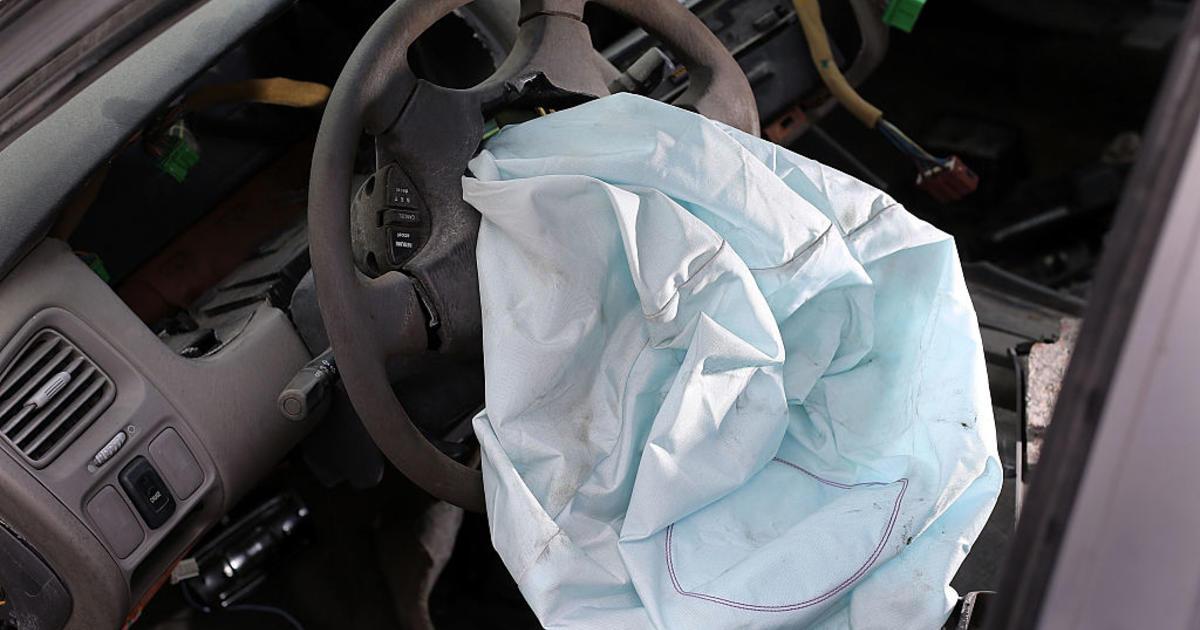 Airbag recall mazda