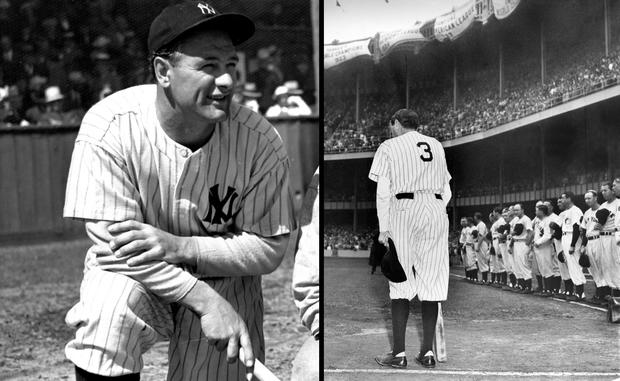 Lou Gehrig Babe Ruth