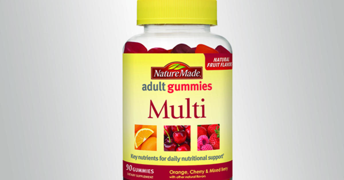 Some Nature Made vitamins recalled over salmonella, staph ...