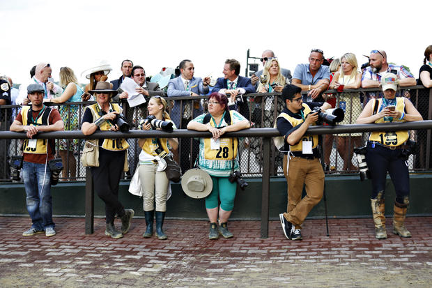 Fashion and style at the Belmont Stakes