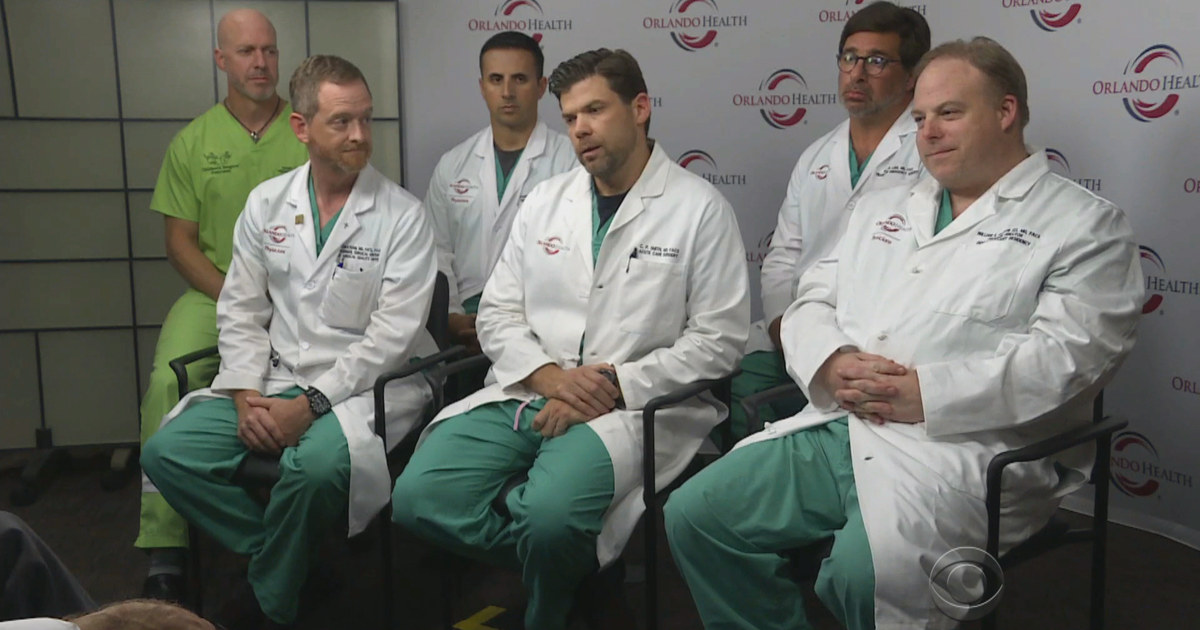 """Orlando surgeons speak out: """"This is not something that goes away"""" - CBS News"""