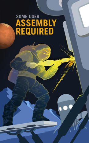 NASA's Mars recruitment posters