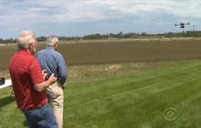 American farmers getting assist from drones