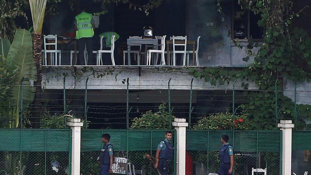 Gunmen take hostages in Bangladesh