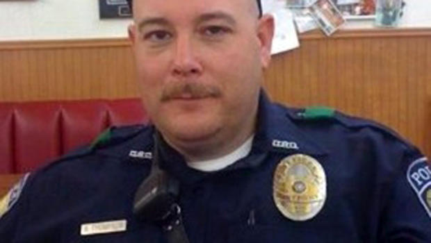 Brent Thompson, of Dallas Area Rapid Transit, one of five officers killed in a shooting in Dallas, is pictured in this undated handout photo obtained by Reuters July 8, 2016.