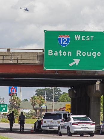Baton Rouge on edge