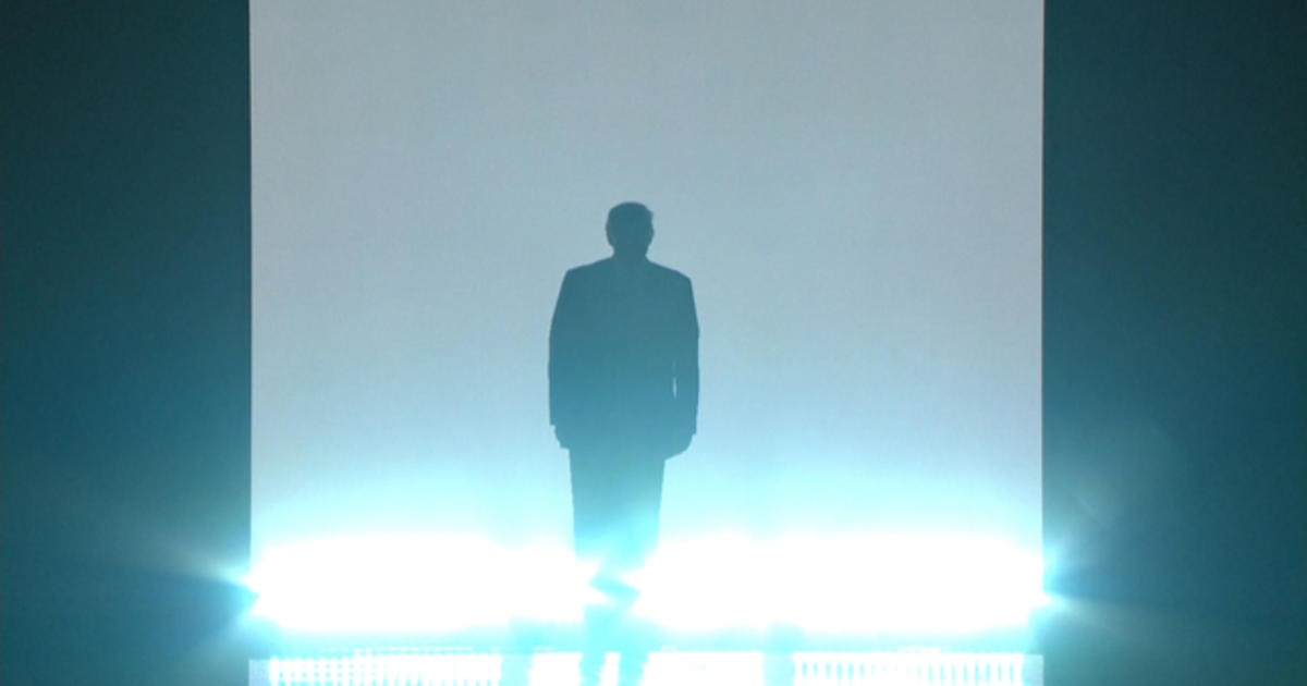 Donald Trump's dramatic RNC entrance CBS News