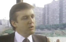 1985: A younger Donald Trump tells Mike Wallace about his development ambitions