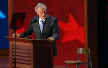 2012: Clint Eastwood Talks To Empty Chair At RNC