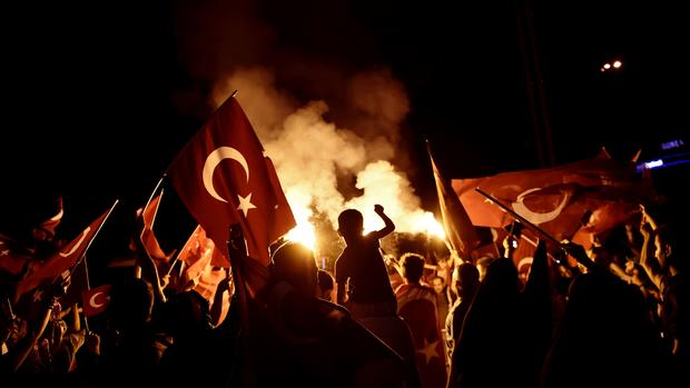 Coup attempt in Turkey