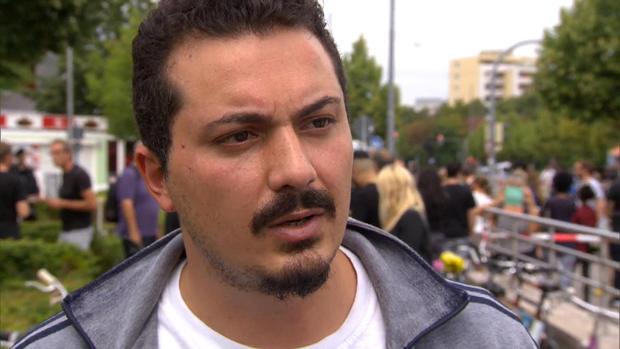 Huseyin Bayri, 29, survived the Munich mall shooting.