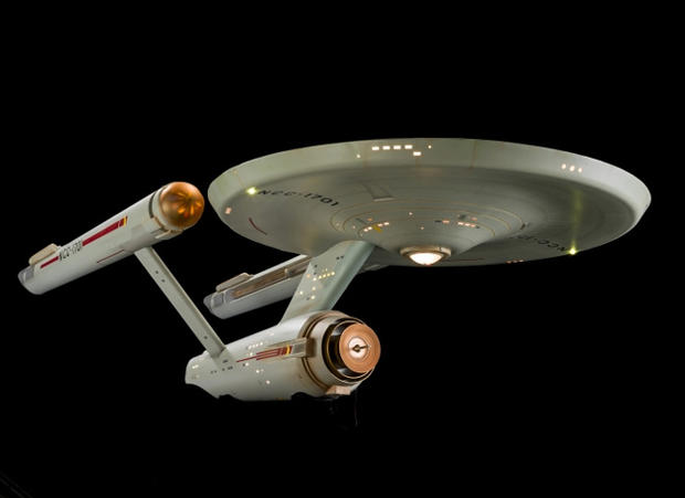 Evolution of the Starship Enterprise