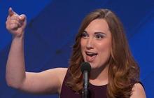 Transgender activist makes history at the DNC